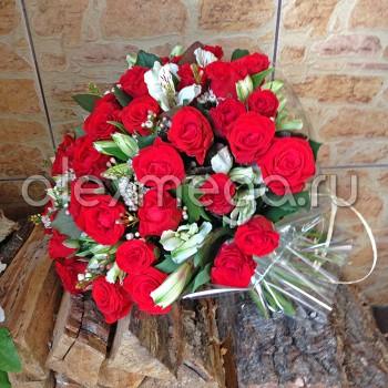Букет с розой Эль Торо