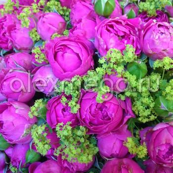 Букет из розы кустовой.