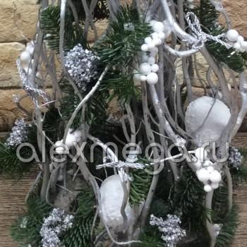 Флористическая Новогодняя елка