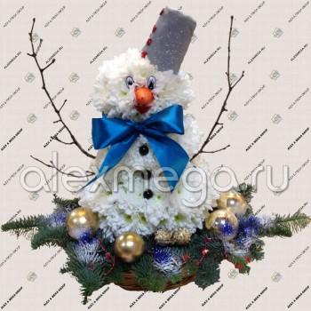 Снеговик. Новогодняя игрушка