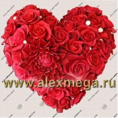 Цветы и букеты на день Валентина