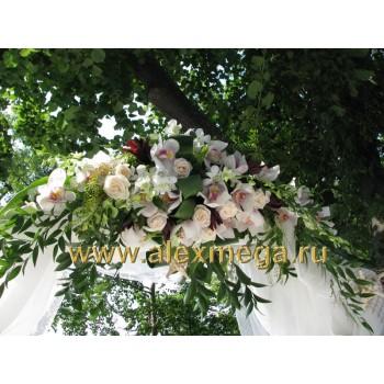 Арка выездной церемонии бракосочетания