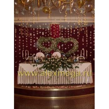 Подиум жениха и невесты