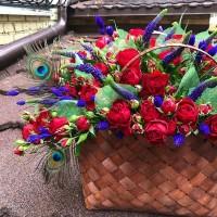 Хотите вызвать восторг не только у неё,но и у всех окружающих? Тогда дарите цветочные корзины! Они точно вас не подведут!  Корзина с цветами-6000₽ ——————— AlexMegaGroup AMG#alexmegagroup#alexmega#amg#цветочки#цветы#flowers#цветыназаказ#доставкабукетов#цветывкоробке#101роза#букет#свадьба#цветынасвадьбу#свадебноеоформление#букетневесты#флористика#подарок#магазинцветочки#сходненская#фабрициуса40#тушинская#циолковского7#митино#пятницкоешоссе42#магазинцветочки#шляпныекоробки#ящички#ящикисцветами#цветочки#флорист#флористика#букет