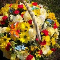 Мы, AlexMegaGroup ,подготовили для вас пасхальные композиции из живых цветов! Ждём Вас! ——————— AlexMegaGroup AMG#alexmegagroup#alexmega#amg#цветочки#цветы#flowers#цветыназаказ#доставкабукетов#цветывкоробке#101роза#букет#свадьба#цветынасвадьбу#свадебноеоформление#букетневесты#флористика#подарок#магазинцветочки#сходненская#фабрициуса40#тушинсfкая#циолковского7#митино#пятницкоешоссе42#магазинцветочки#шляпныекоробки#ящички#ящикисцветами#цветочки