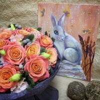 Продолжаем знакомство с прекрасным🌸. «Летнее утро»@jitven  Холст,акрил /5500₽/——————— AlexMegaGroup AMG#alexmegagroup#alexmega#amg#цветочки#цветы#flowers#цветыназаказ#доставкабукетов#цветывкоробке#101роза#букет#свадьба#цветынасвадьбу#свадебноеоформление#букетневесты#флористика#подарок#магазинцветочки#сходненская#фабрициуса40#тушинсfкая#циолковского7#митино#пятницкоешоссе42#магазинцветочки#шляпныекоробки#ящички#ящикисцветами#цветочкиь