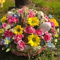 Мы, AlexMegaGroup , подготовили для вас пасхальные композиции из живых цветов! Ждём Вас! ——————— AlexMegaGroup AMG#alexmegagroup#alexmega#amg#цветочки#цветы#flowers#цветыназаказ#доставкабукетов#цветывкоробке#101роза#букет#свадьба#цветынасвадьбу#свадебноеоформление#букетневесты#флористика#подарок#магазинцветочки#сходненская#фабрициуса40#тушинсfкая#циолковского7#митино#пятницкоешоссе42#магазинцветочки#шляпныекоробки#ящички#ящикисцветами#цветочки